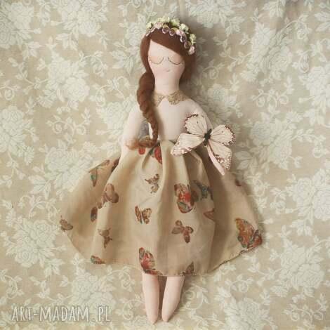 motyla bajka - lalka mariposa - lalka, wianek, motyle, wróżka, koronka