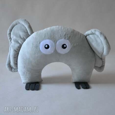 księżycowy słoń - słoń, przytylanka, maskotka, rogal, pluszak