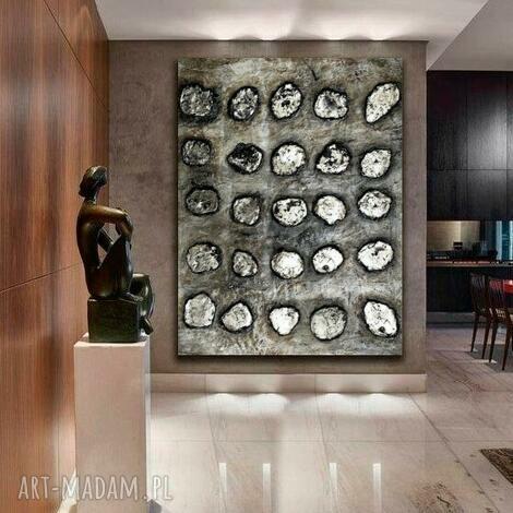 kamienna iluzja - obraz na płótnie, plotnie, modna dekoracja