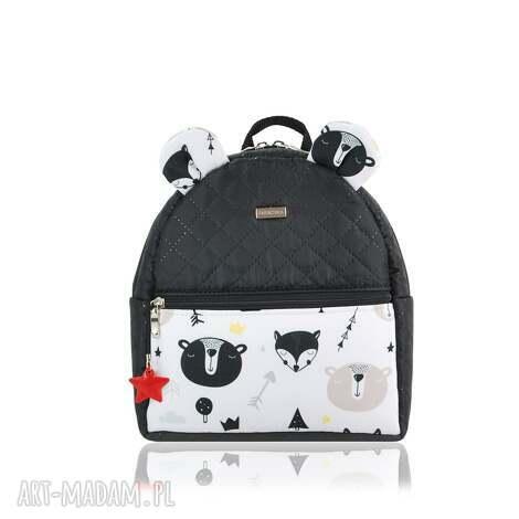 plecaczek farbiś 2266 r s, farbiś, plecak, plecak z uszami, polska marka