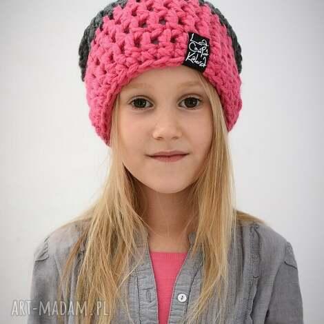 triquensik 05 - czapka, czapa, zima, zimowa, ciepła, dziecięca