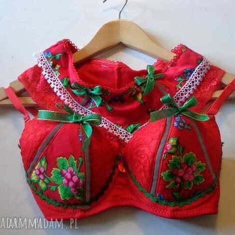 folkdesign walentynki bielizna folk design, ubrania