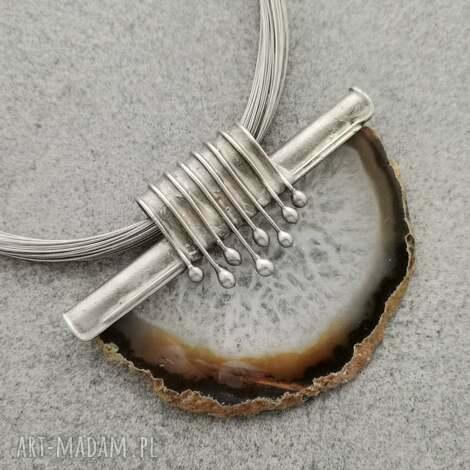 agat w kroplach, kamienie naturalne naturalnie, minerały, prezent
