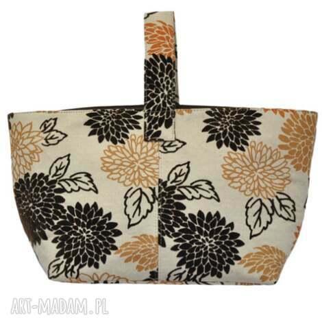 13-0012 wielobarwna torebka damska do ręki shopper bag / na zakupy toucan