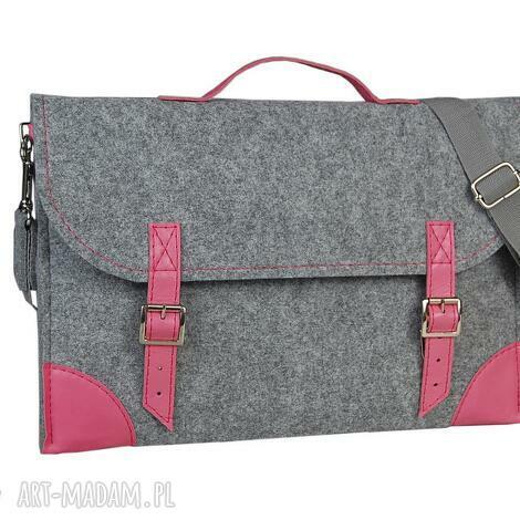 filcowa torba na laptopa - szyta miarę różne kolory, torba, skóra, filc