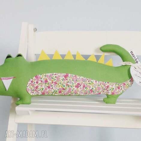 krokodyl eliot - krokodyl, eliot, zabawka, miś, przytulanka