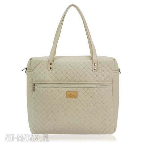 na ramię torebka shopperka 1145, shopperka, pikowana, duża, modna, stylowa torebki