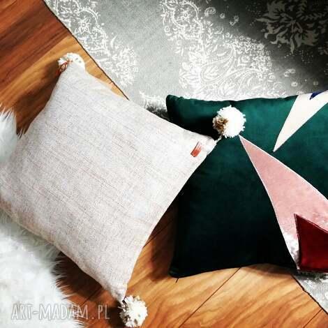 poduszki poduszka naturalna, styl skandynawski natural, boho, boho dodatek