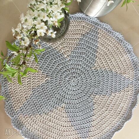 dywany okrągły dywan gwiazda z falbanką o średnicy 85cm, dywan, gwiazda, pokój