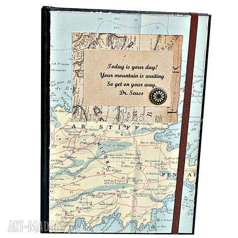 scrapbooking albumy kalendarz 2018 motywujący - vintage, kalendarz, 2018, podróżnika