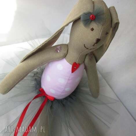 baletnica serduszko - balerina, baletnica, roczek, chrzest, komunia, tutu