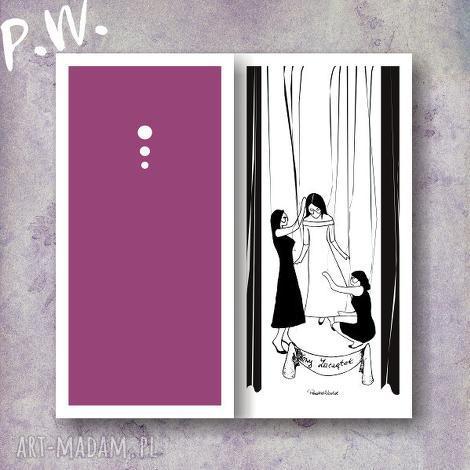 ślub elegancka karteczka ślubna dl, kartki, ślub, okolicznościowe
