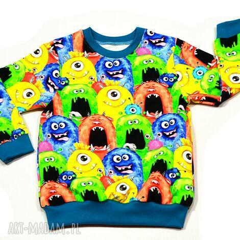 potworki kolorowa całoroczna bluza dziecięca, rozmiary 68-128