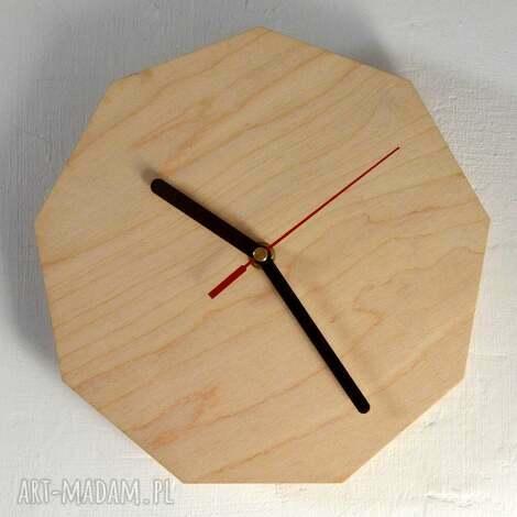 zegar wood clock, zegar, drewniany, vintage, drewno, dom, prezent zegary