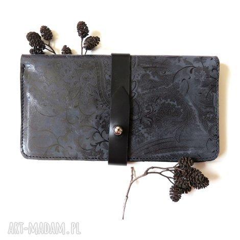 portfele portmonetka na karty i dokumenty skórzana, pormonetka, skóra, prezent