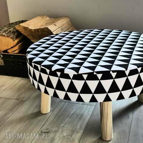 stołek fjerne xl - stolik, taboret, puf, stołek, drewno