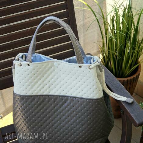 pikowana torba, torebka, pikowana, maroko, koniczyna, prezent
