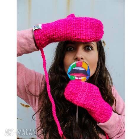 rękawiczki mode 10 - braininside, zima, rękawiczki, dwupalczaste