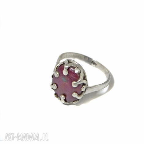 świąteczny prezent, pierścionek z rubinem, rubin, pierścionek, srebro, 925