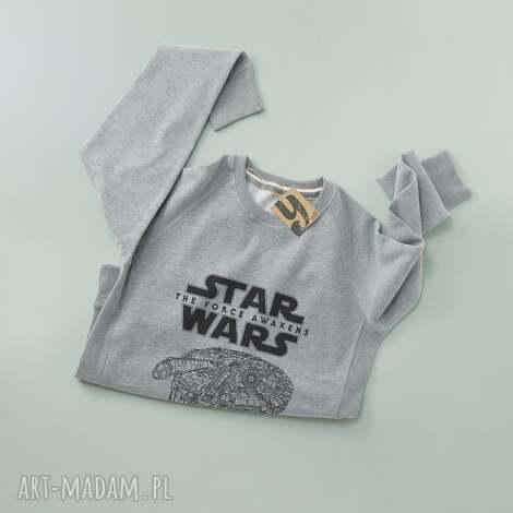 starwars bluza z długim rękawem, sweatshirt, nadruk, gwiezdne, wojny
