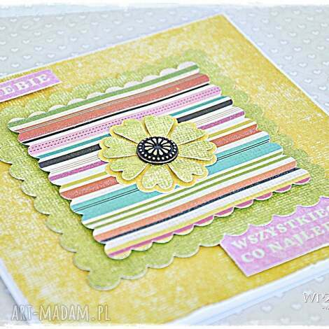 radosne życzenia - kartka, kwiat, urodziny, imieniny, dzień, matki