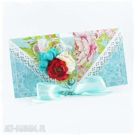 kopertówka - kartka na wiele okazji - kartka, kopertówka, ślub, urodziny