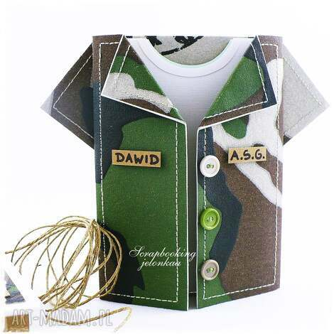 b49991f86b Zielone scrapbooking kartki - handmade. Akcesoria. ręcznie