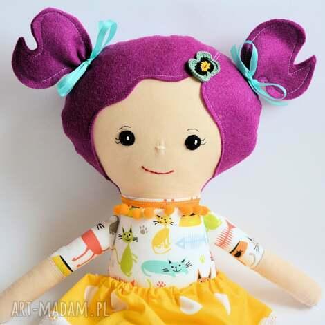 lala rojberka - kasia, lalka, zabawka, kotek, maskotka, przytulanka, szmacianka