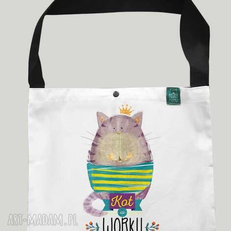 torba worek kot w worku, torba, eko, zakupy, prezent, bawełna, torebki