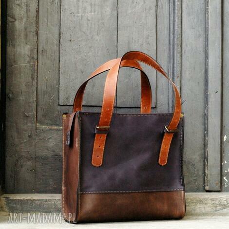 torba damska na laptopa lub dokumenty, idealna do biura dla niej