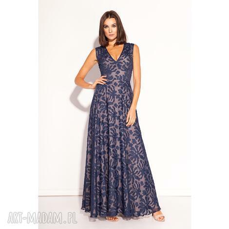 f079bcf236 Sukienki niebieskie handmade. Sukienka niebieska