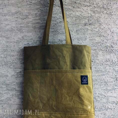 torebki torebka canvas olive, wege, płótno, ekologiczna, oliwkowy, khaki, ręcznie