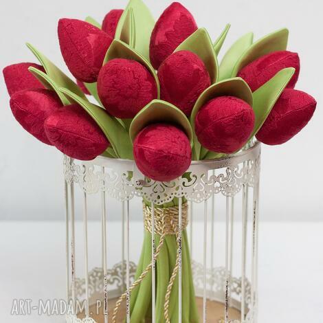 art anette tulipany bukiet ślubny sesja ślubna bordo, bukietślubny, sesjaślubna
