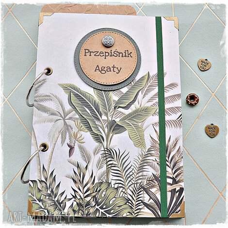 niekończący się przepiśnik imienny dżungla, przepisy, przepiśnik, notatnik