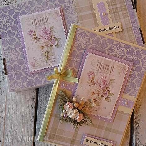 kartka ślub w pudełku, kartka, ślub, scrapbooking, wesele, zaproszenia