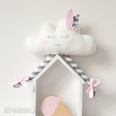 chmurka, chmura pióropusz, piórko zabawka, prezent