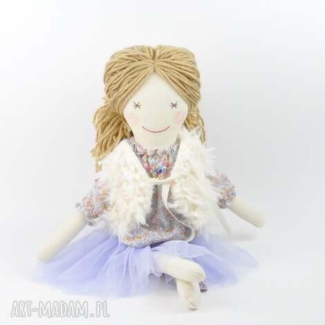 lalki lalka szmaciana fioletowa tutu, lalka, szmaciana, szmacianka, prezent