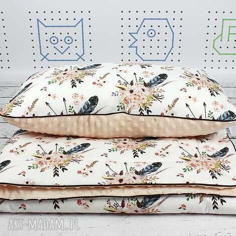 zestaw do łóżeczka custom tkaniny spoonflower - pościel, kocyk, poduszka