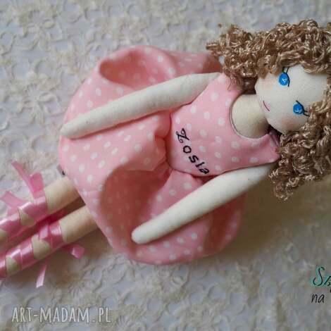 lalka #148, przytulanka, szmacianka, bawełniana, lalka, ręcznie, szyta dla dziecka