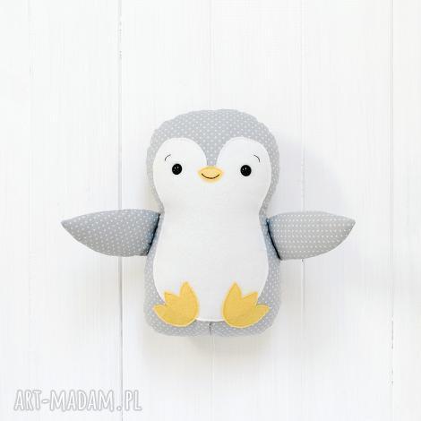 duży pingwin - pingwin, pingwinek, zabawka, maskotka, przytulanka, prezent