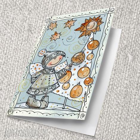 kartka świąteczna 4 5 6, kartka, pocztówka, święta, prezent