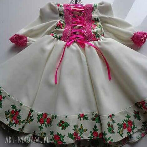 kids folk design sukienka, dla dziecka