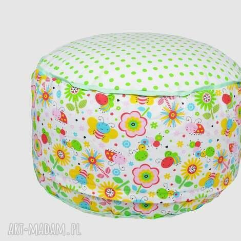 puf fairy meadow, puf, dla, dzieci, siedzisko, popielewska, style dla dziecka