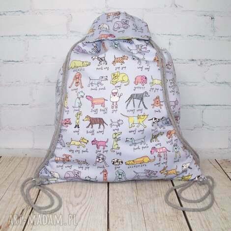 plecaki plecak dla wielbicieli psów, pies, psy, worek, znaucer, jamnik, dog