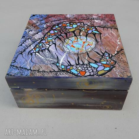 szkatułka w sieci marzeń, szkatułka, abstrakcja, obraz