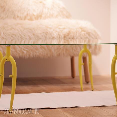 święta, stół szklany forks, kawowy, rowerowy, szklany, salonu, ława, rower dom