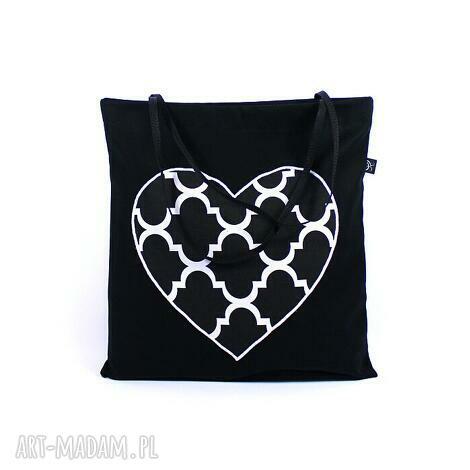 torba codzienna zakupówka 26, zakupy, serce, torba, shopping