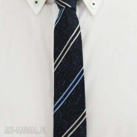krawaty krawat slim #29, krawat, jedwab, dodatki