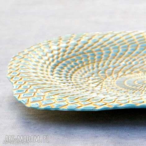 ceramiczna patera lato, patera, energetyczne, salon, na stół, misa