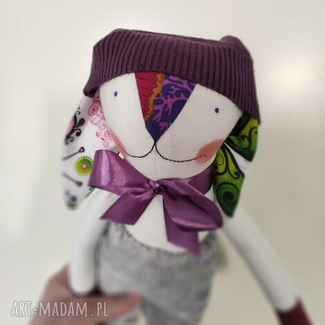zajączek ekscentryczny edward, lalka, przytulak, pluszak, zabawka